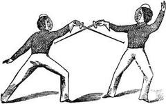 opposing