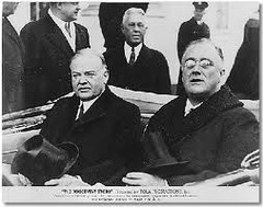 Was FDR's New Deal really a continuation and expansion of Hoover's tactics?