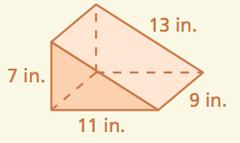 356 square inches