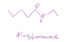 Draw N-ethylpentanamide