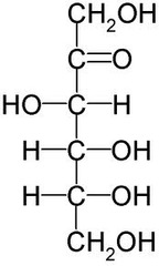 Straight Chain Structure of Fructose