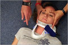 treating neck or spinal injury