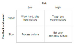 2 - Risk appetite and culture Deal and Kennedy: risk, feedback and reward
