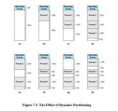 The Effect of Dynamic Partitioning