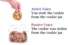 active voice VS. passive voice.