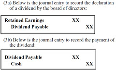 Dividend Declaration and Payment