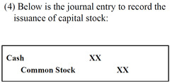 Issues of Capital Stock