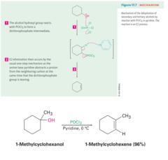 Alcohol + POCl3 (in Pyridine)