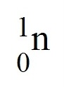 neutron symbol