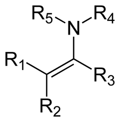What is an enamine?